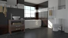 室内建模渲染