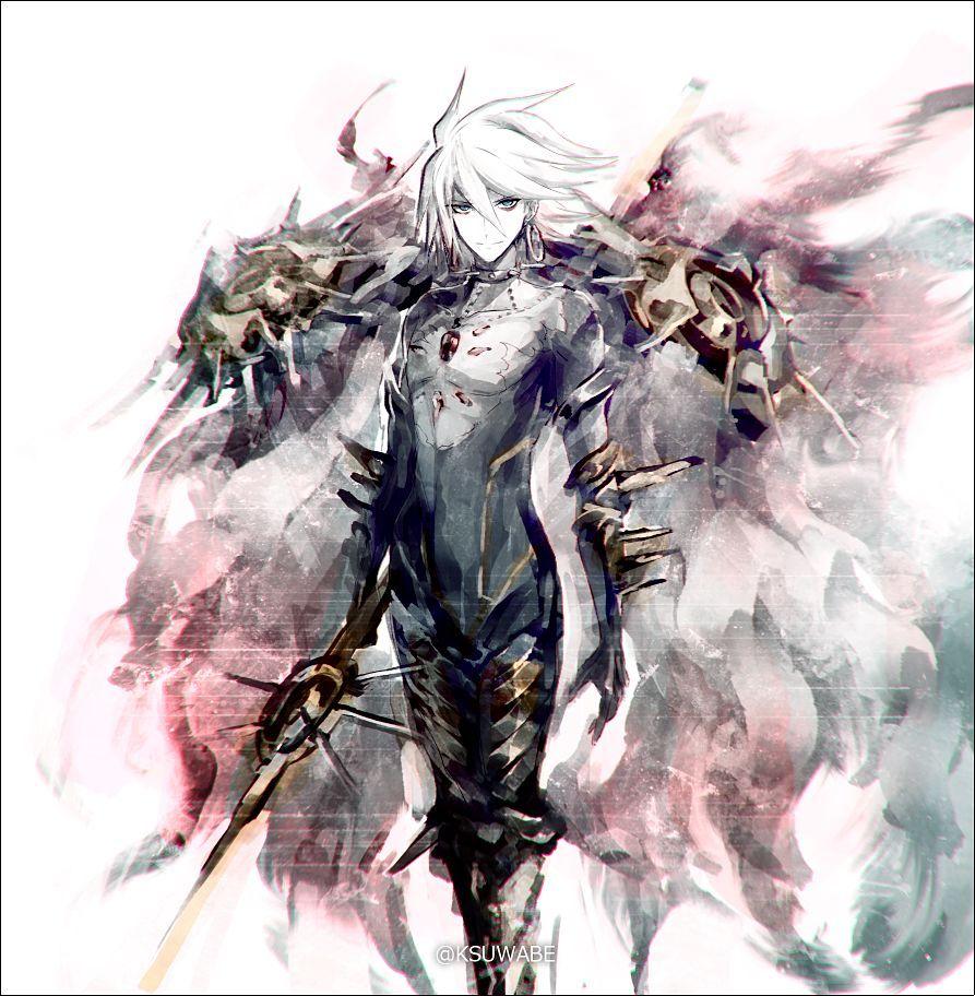 精美的动漫人物设计骑士人物设计