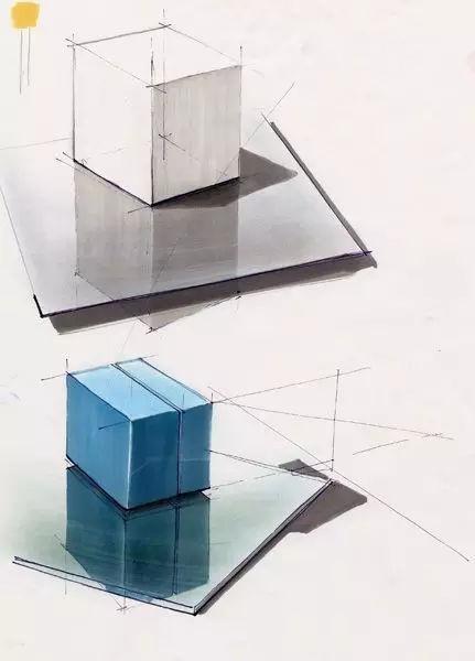 工业设计手绘中如何表达材质?