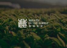 鹿林茶业品牌设计