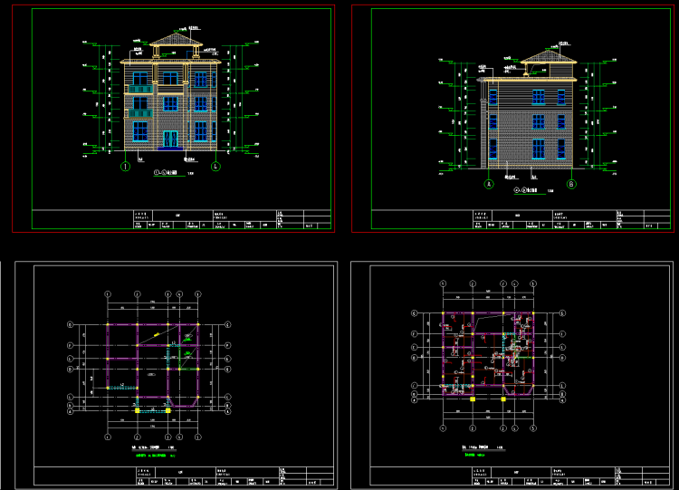 农村自建房别墅设计,不可错过的免费建房设计图分享