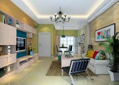 欧式小户型客厅装修效果图