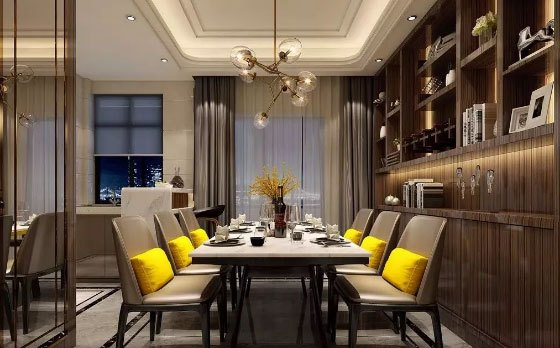 餐厅怎样装修更美观?这样的餐厅装修才能让人羡慕!