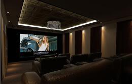 独立私人影院视听室设计,视听室设计欣赏