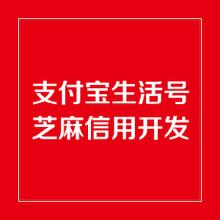 威客服务:[113385] 支付宝生活号开发/芝麻信用开发