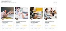 响应式在线课程教育bootstrap网站