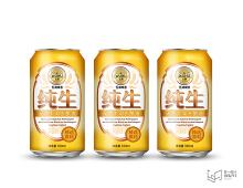 五湖纯生啤酒