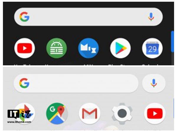 谷歌Pixel桌面设计改变
