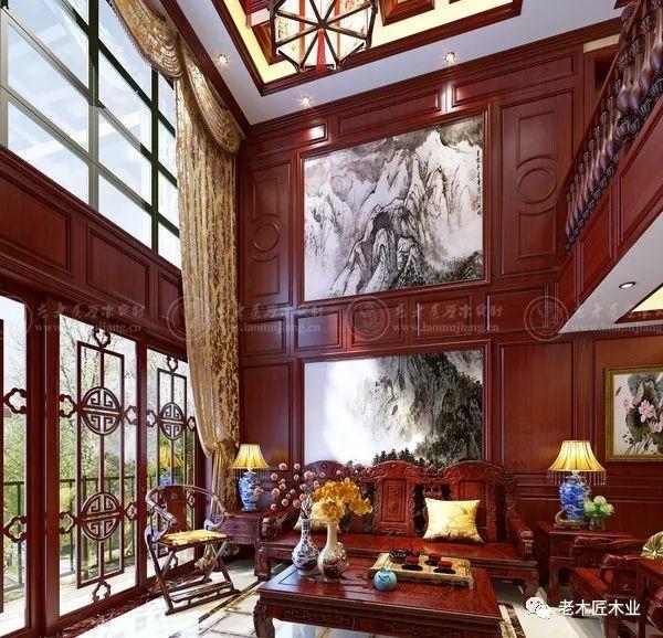 绝美欧式整木家装设计效果图 流淌着高贵气息!