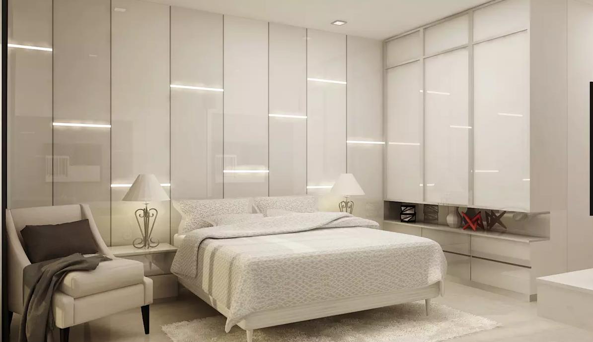 一个现代风格的豪华软装别墅设计