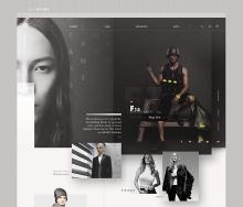 时尚大气服饰网站