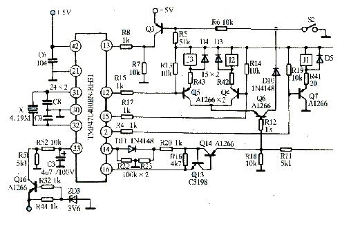 格兰仕微波炉工作原理电路图 电子电路基础教程之微波