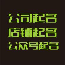 威客服务:[86106] 公司取名(用于工商注册,上海广州注册除外)