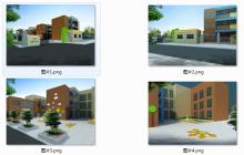 学校景观效果图设计