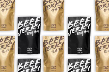 【原创】包装项目·食肉怪牛肉干系列包装
