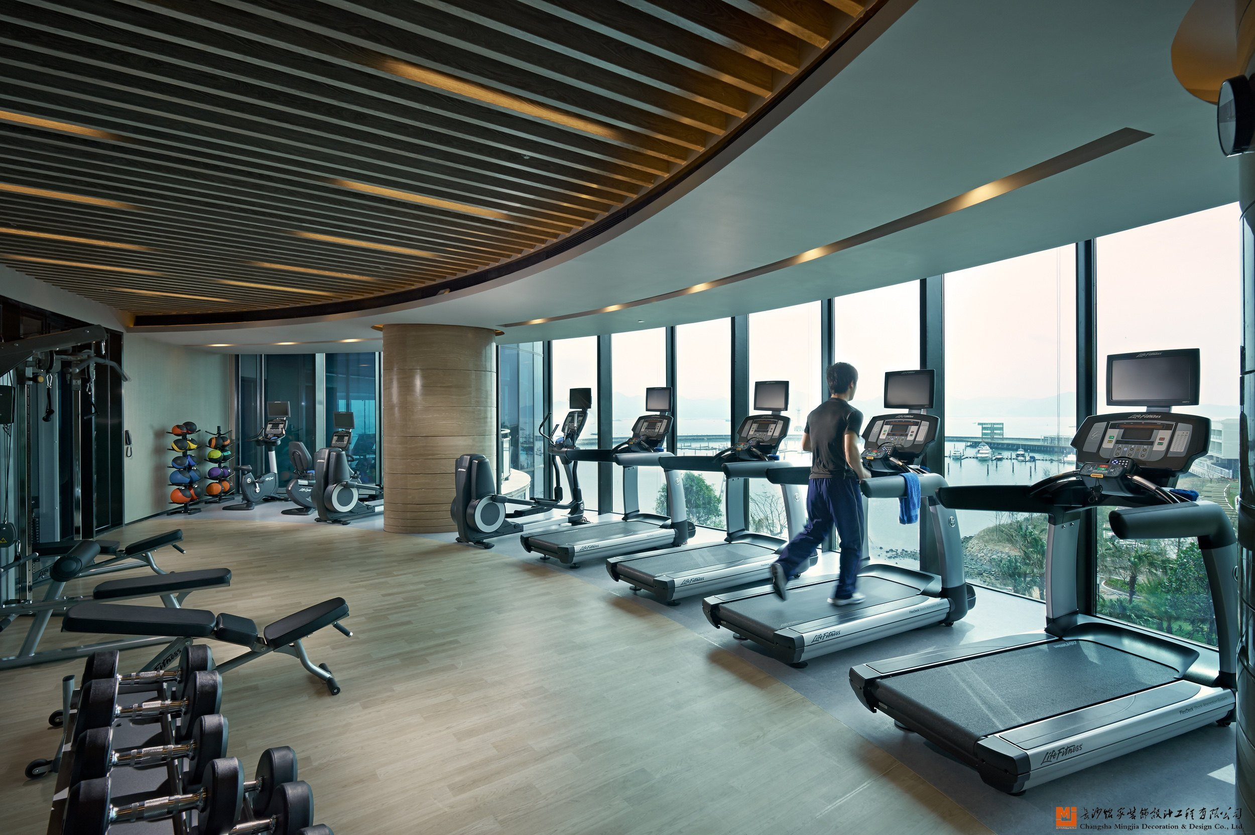 健身房怎么设计比较好?几个健身房装修设计要点