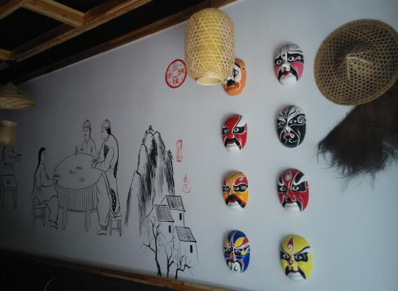 怎么设计好看的餐厅手绘墙?餐厅手绘墙设计要点