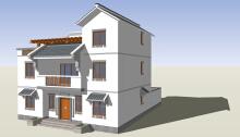 别墅、农村自建房、民俗设计