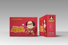 网红品牌周小帅-零食龙虾包装设计