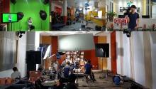 深圳晚会、年会、会议、多机位拍摄、现场直播录制、摄像