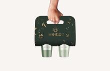 六普叶芯-时尚茶饮VI设计