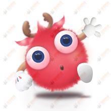 +U鹿-吉祥物设计