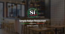 【Simply Italian】餐厅品牌设计 logo设计 VI设计 海报设计 网页设计