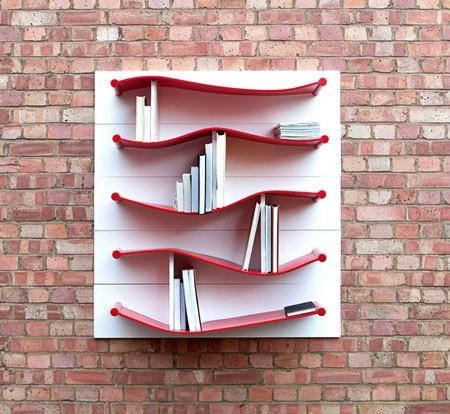100+实用又美观的创意书架设计,非常值得收藏