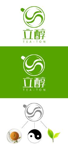 浓缩茶LOGO设计方案