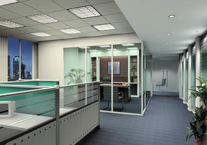 办公装潢怎么设计?2019简单大气的办公装潢设计案例欣赏