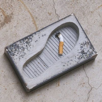 2019最新、最全的创意烟灰缸设计案例欣赏