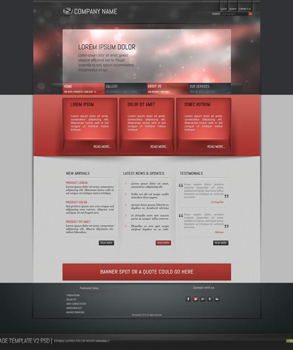 2019最新、最全的网页设计素材