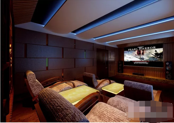 家庭影院怎么设计?2019豪华的私人家庭影院设计效果图案例欣赏