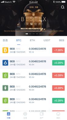 某区块链交易平台