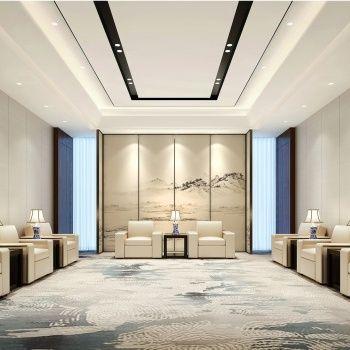 接待室怎么装修设计?7个豪华高档的接待室装修欣赏