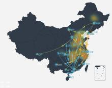大数据可视化,echarts图表展示,地图、热力图、用户画像,人群分布