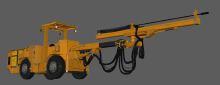 矿车机械设备建模制作贴图设计