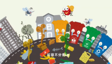 盘古文创团队作品MG动画公益片《垃圾分类》