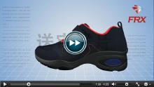 跑步鞋三维展示