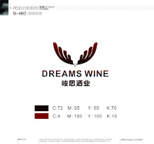 湖南峻思酒业品牌logo设计