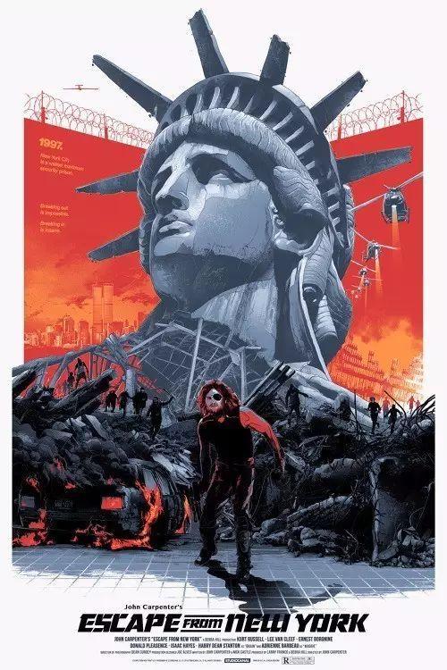 2019国外复古风格的电影海报设计图片欣赏