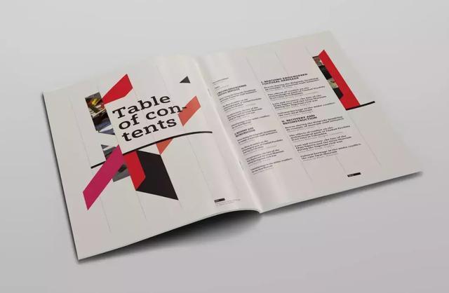 时尚画册版式设计欣赏,优秀画册版式设计素材
