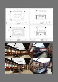 汶川中学展厅设计与施工