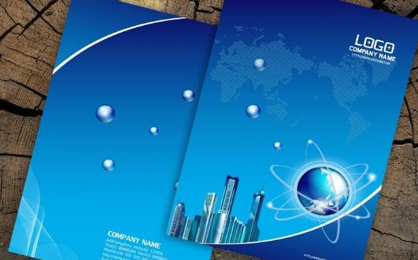 2019企业宣传画册封面设计怎么制作?企业封面设计欣赏