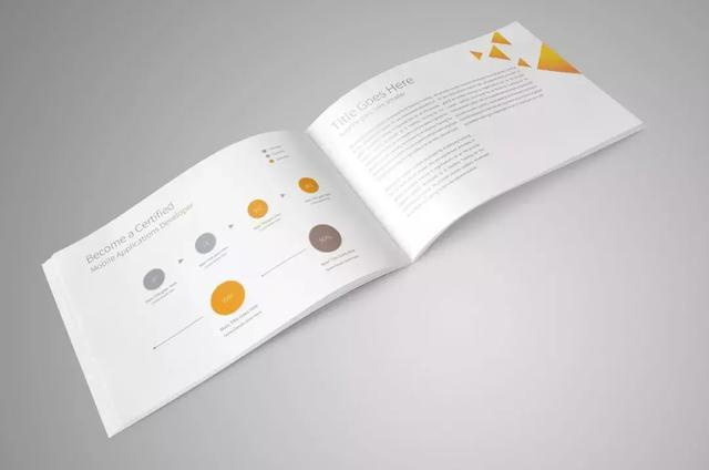2019简洁大方的国外产品画册设计欣赏