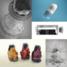 威客服务:[128226] 【拾月】礼盒包装结构、异形包装结构、瓶型设计