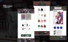 WEB端设计-FANXY CHILD(潮牌)