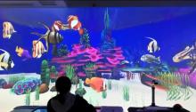 威客服务:[115962] AR定制开发 沉浸式互动 儿童互动投影画画 互动淘汽堡 音乐墙等
