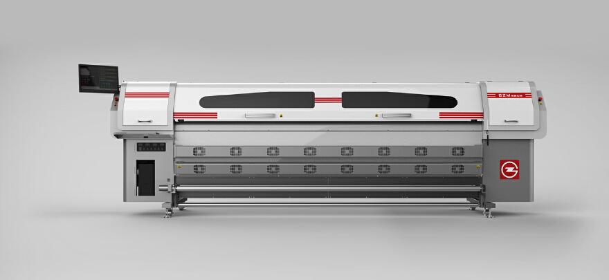 星光喷绘机设计-左岸机械产品设计