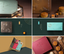 金悦轩月饼礼盒设计
